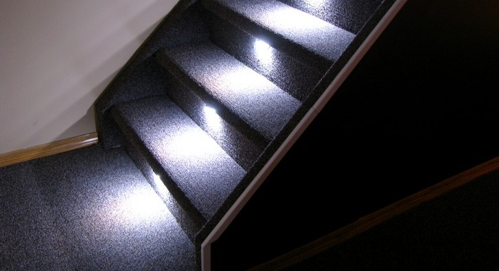 Reactive Lighting, Automated LED Stair Lighting Controller Solutions