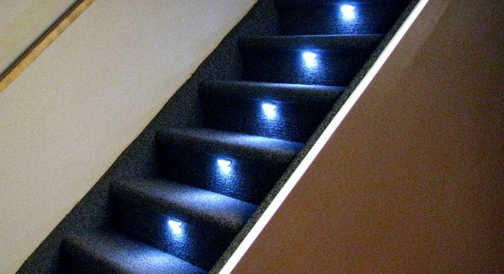 Lighting Basement Washroom Stairs: Reactive Lighting, Automated LED Stair Lighting Controller