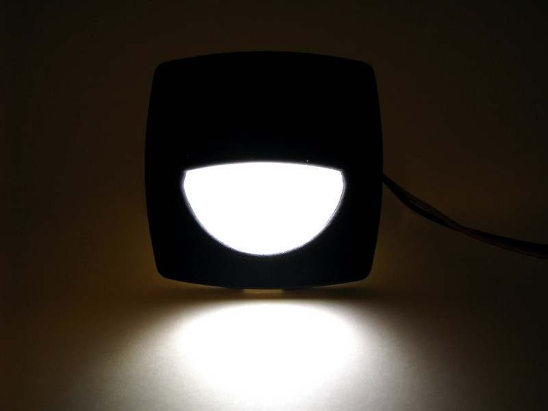 Black Flush Mount LED Light