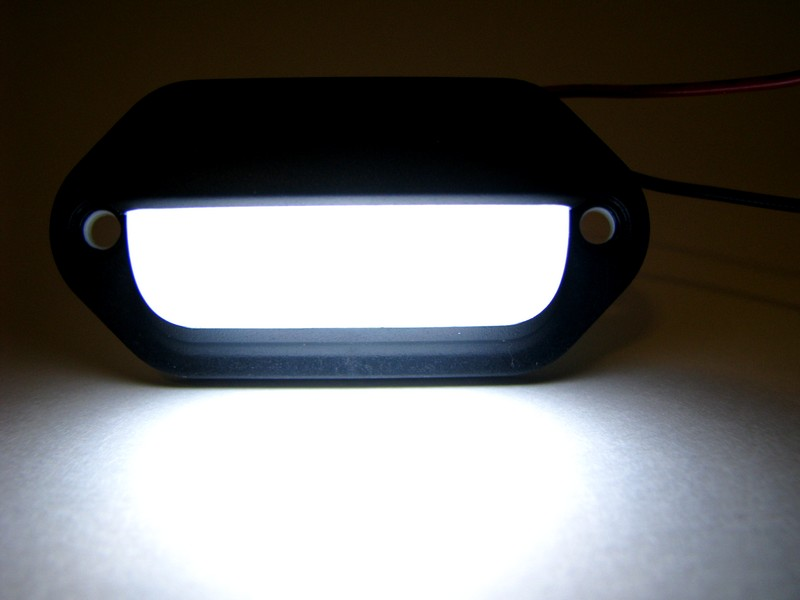 Black Surface Mount LED Light