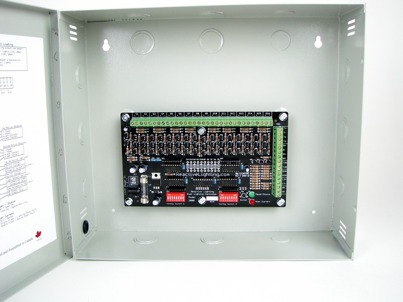 Model 2000 Stair Lighting Controller