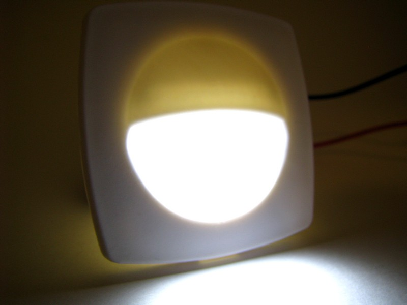 White Flush Mount LED Light