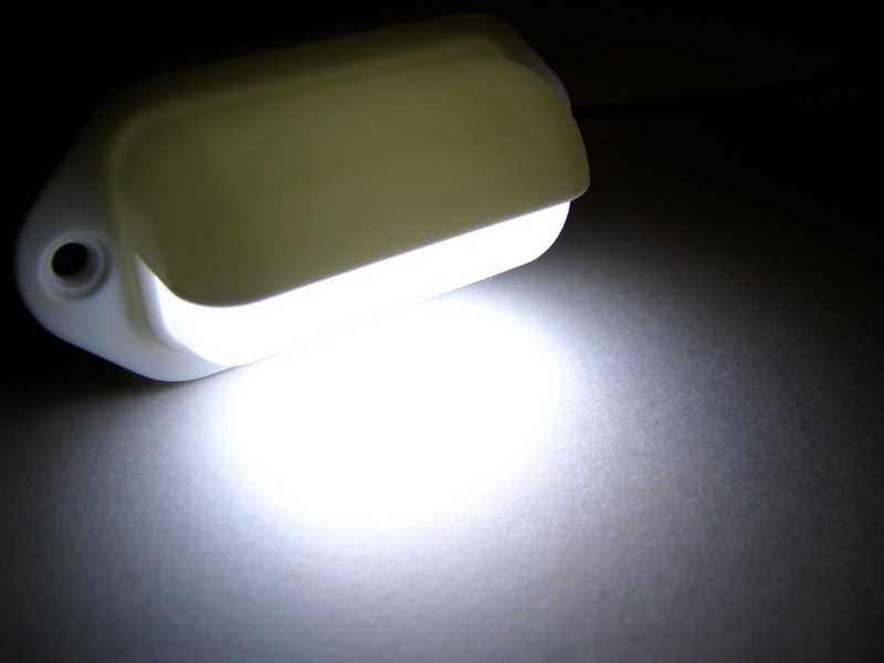 White Surface Mount LED Light